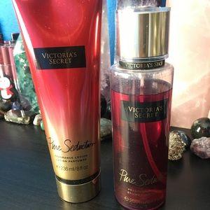 SET VS Pure Seduction spray & fragrance lotion ✨
